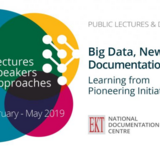 Public Lectures and Discussions 'Βig Data, New Media, Documentation Issues: Learning from Pioneering Initiatives'